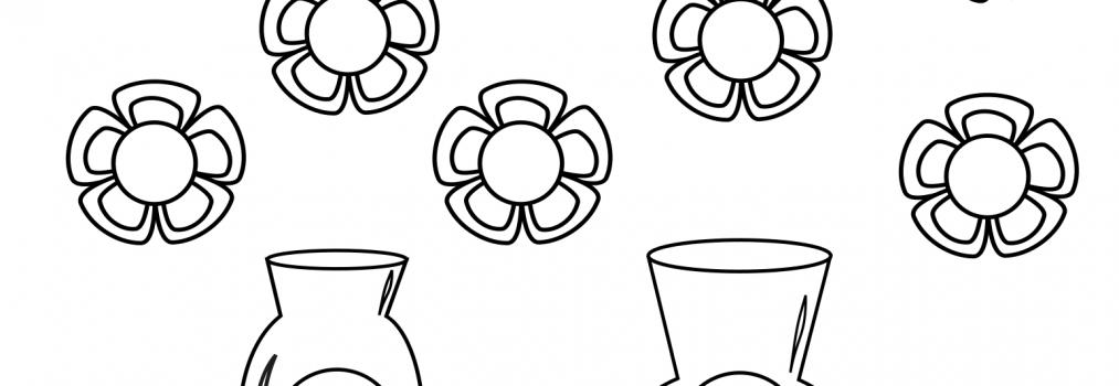 Wazony z kwiatami – różnicowanie głosek SZ i Ż