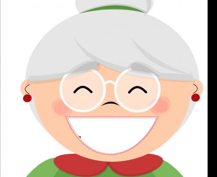 Smacznego babciu! – logopedyczne babeczki – 2 strony