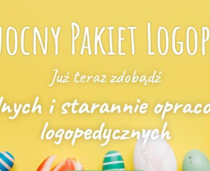 Wielkanocny Pakiet Logopedyczny aż 10 kart pracy