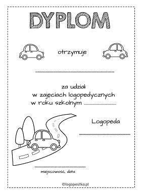 dyplom auta BW logopestka.pl