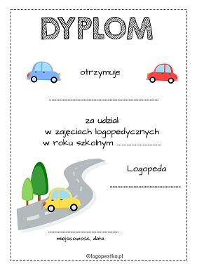 dyplom auta logopestka.pl