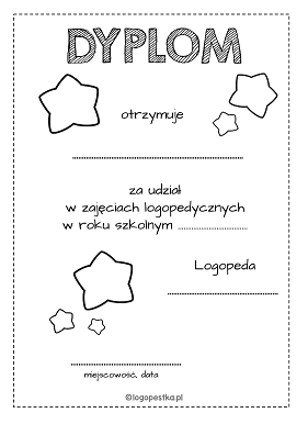 dyplom gwiazdy BW logopestka.pl