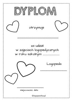 dyplom serca BW logopestka.pl